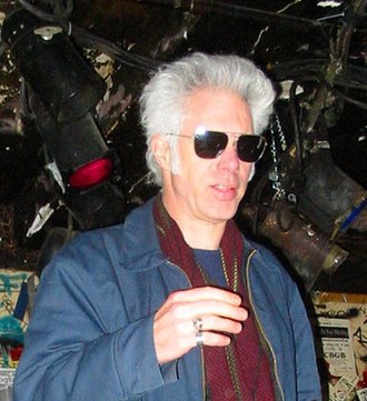 Jim Jarmusch - Jarmusch at punk club CBGB in New York City on November 30, 2003