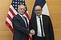 Jim Mattis and Jean-Yves Le Drian, NATO Headquarters, Brussels, Feb. 15, 2017.jpg