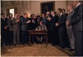 Jimmy Carter signs the Black Lung Benefits Reform Act of 1977. - NARA - 178187.tif