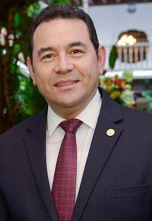 President of Guatemala - Image: Jimmy Morales Cabrera (Guatemala)