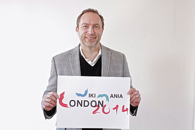 Jimmy Wales Wikimania London.JPG