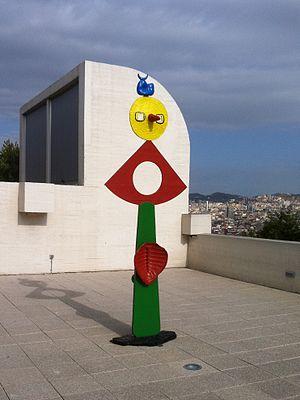 The Caress of a Bird - Image: Joan Miró The caress of a Bird