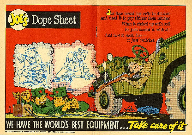 File:Joe's Dope Sheet (Issue 008 1952 page336 page337) (16214102274).jpg