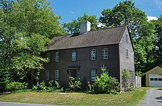 Chase family - The seventeenth century John Chase house in West Newbury Massachusetts is the oldest known Chase family home in North America.