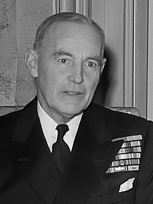 Vice Chief of the Naval Staff - Image: John Edelsten (1953)