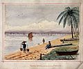 John Edmund Taylor, Tanjong Katong, Looking towards Singapore (1879, Wellcome V0037481).jpg