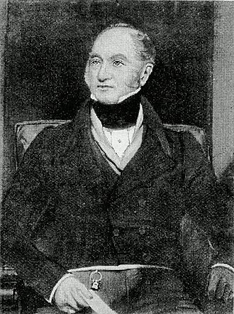 John Hardy (MP) - Engraving of Sir John Hardy, after an engraving by Henry William Pickersgill