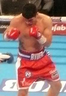 John Ryder (boxer) English boxer