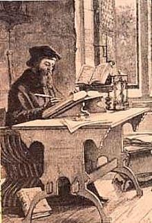 John Wycliffe at work