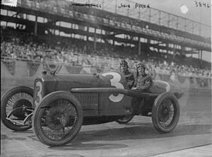 Johnny Aitken - Image: Johnny Aitken at the Sheepshead Bay Speedway on May 13, 1916