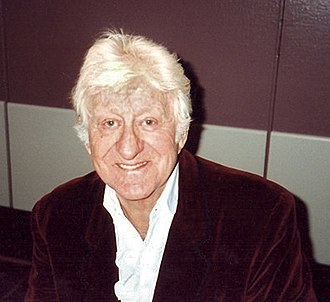 Jon Pertwee - Pertwee at a Doctor Who Convention in Glasgow, March 1996
