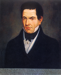 José María Luis Mora Mexican politician and historian of the XIX century