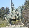 Jose Maria Morelos y Pavon Statute, Lincoln Park, Los Angeles.JPG