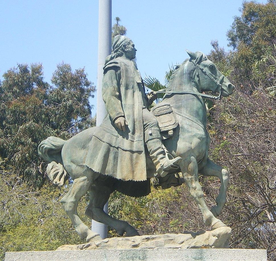 Jose Maria Morelos y Pavon Statute, Lincoln Park, Los Angeles