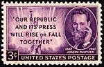 Joseph Pulitzer 3c 1947 issue U.S. stamp.jpg