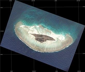 Juan de Nova Island - Image of Juan de Nova Island taken from the International Space Station.
