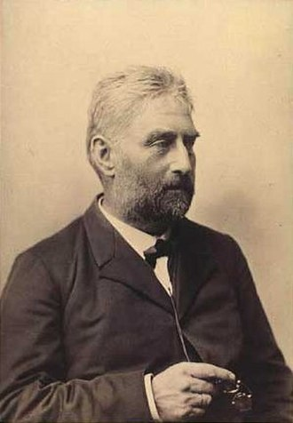 Julius Lange (art historian) - Julius Lange by Hansen, Schou & Weller (sometime after 1889)