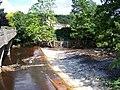 June 2007 - River Don Weir at Oughtibridge following the flood. - geograph.org.uk - 716031.jpg