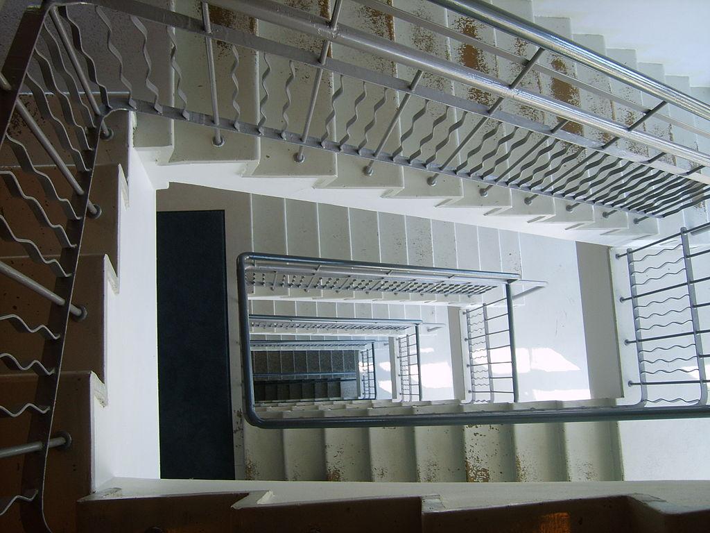 External Staircase Glass Bausrade Archectre
