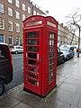 K6 Telephone Kiosk Outside Number 25 Beford Row (Number 25 Not Included).jpg
