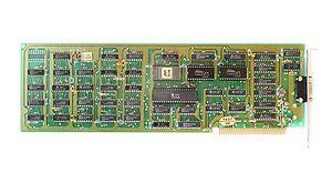 IBM Monochrome Display Adapter - MDA Video card.