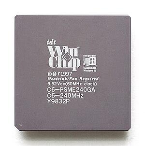 WinChip - Image: KL IDT Win Chip C6