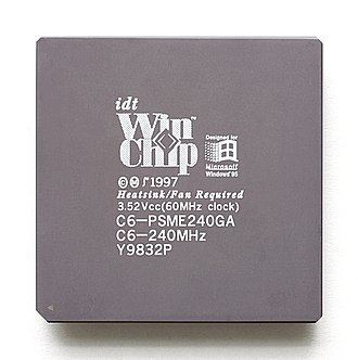 WinChip - Image: KL IDT Win Chip C6