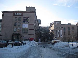 Ruoholahti - Kaapelitehdas (Cable Factory) culture centre
