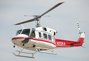 Bell 212 - Bell 212 operated by Kachina departs from the Mojave Spaceport