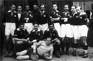 Wisła Kraków - 1927 Wisła Kraków side.