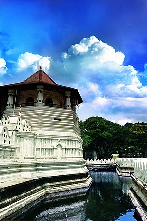 Architecture of ancient Sri Lanka - Temple of the Tooth, Kandy
