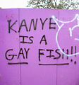 Kanye West graffiti at Bonnaroo.jpg