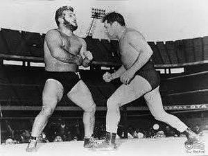 Titanes en el ring - Karadagián vs Gatica