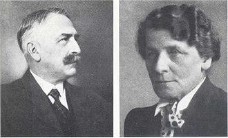 Herbert von Karajan - Herbert von Karajan's parents, Ernst and Marta (née Kosmač)