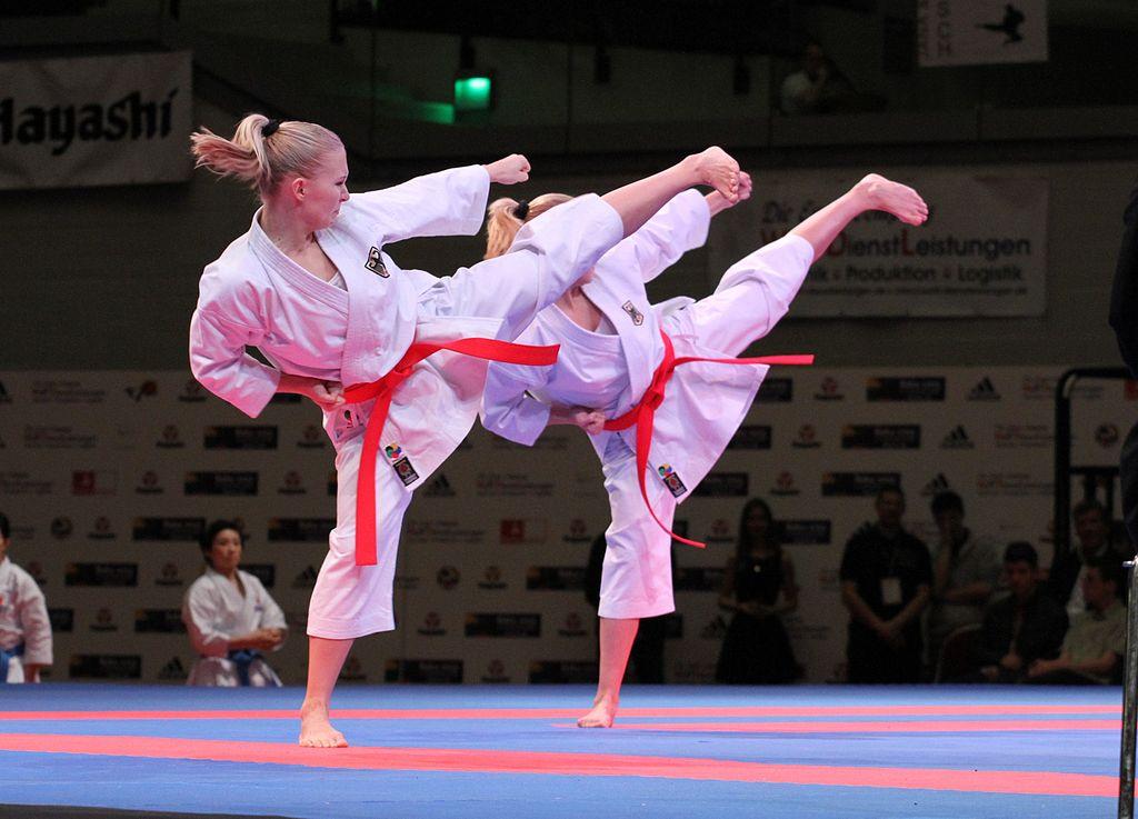 Wikimedia Commons- World Karate Federation