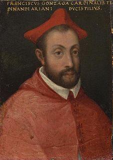 Francesco Gonzaga (1538–1566) Italian priest