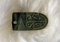 Karolingische bronzen rientong (Derlon-opgraving, 9e eeuw), archeologische collectie Centre Céramique, Maastricht.JPG