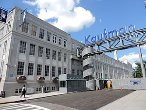 Kaufman Astoria Studios - The former 36th Street, gated as a back lot since 2014