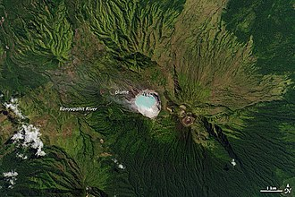 Ijen - Image: Kawah Ijen volcano, Java
