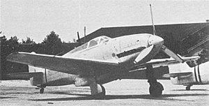 Kawasaki Ki-60 - The first of three prototype KI-60s.