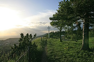 Kehlen (mountain) - Image: Kehlen, Weisses Kreuz 2