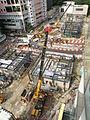 Kennedy Town Station under construction in August 2014.JPG