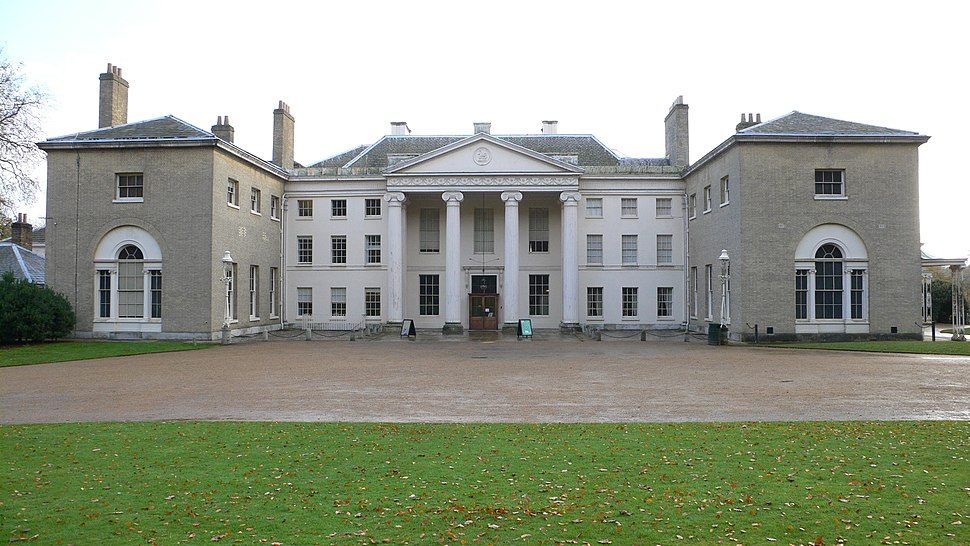 Kenwood House front with extensions 2005