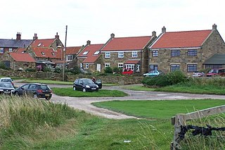 Kettleness Hamlet in North Yorkshire, England