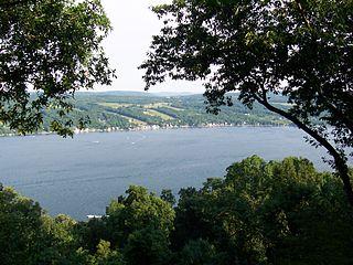 Keuka Lake lake in Steuben County, New York, USA