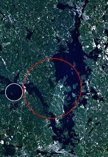 Keurusselkä Lake in Finland