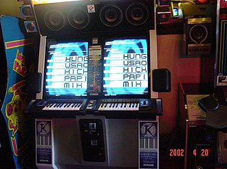 Keyboardmania - Keyboardmania 3rd Mix Cabinet