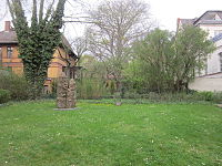 Khojaly Massacre Memorial (Berlin) in Reading Garden.jpg