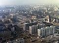 Kilátás északnyugat felé a Kultúra és Tudomány Palotájából. Fortepan 59947.jpg