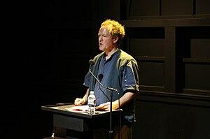 Kim Stafford - Kim Stafford speaking at Beyond Baroque Literary Arts Center, Los Angeles.
